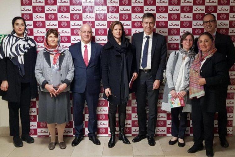 Swiss Ambassador visit to Mahak Hospital