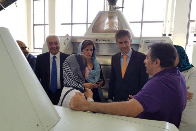 Swiss Ambassador visit to Taban Flour Mill
