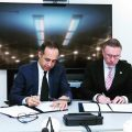 Signing the MOU between the Iran Switzerland Chamber of Commerce and UNICEF