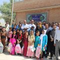 The opening of the primary School in Kermanshah