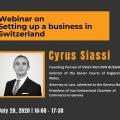 Webinar on setting up a business in Switzerland