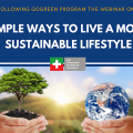Simple Ways To Live a More Sustainable Lifestyle Webinar