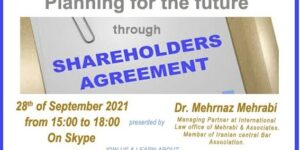 Planning For The Future Through Shareholders Agreement